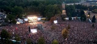 #Wirsindmehr Konzert gegen rechts: Chemnitz will viel mehr sein
