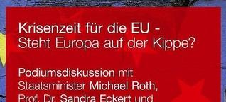 MODERATION: Krisenzeit für die EU - Steht Europa auf der Kippe?