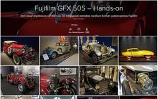 Fujifilm GFX 50S • Hands-on