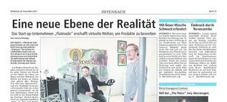 Start-up erschafft virtuelle Welten