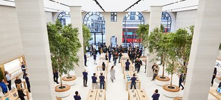 """Apple Stores werden zu """"Town Squares"""""""