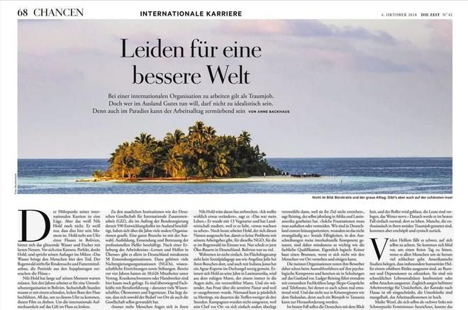 """""""Alles war fünf Mal mehr Arbeit als in Deutschland"""""""