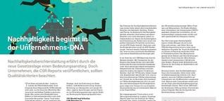 """Buchkapitel: """"Nachhaltigkeit beginnt in der Unternehmens-DNA"""""""