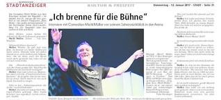 Michl Müller, der rastlose Comedian aus Bad Kissingen