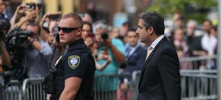 """Politologe: """"Man fürchtet, Cohen hat noch mehr zum Auspacken"""""""