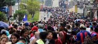 Migración: la marcha hondureña de la esperanza