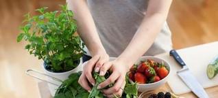 Obst und Gemüse geschickt kombinieren