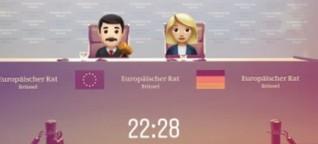 Was passiert bei einem EU-Gipfel in Brüssel?