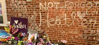 Ein Jahr nach Charlottesville: Die Wunden sind noch nicht verheilt