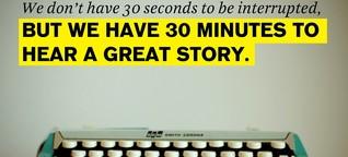 The Art of Brand Storytelling: Wie kreative Marken schon mit einem kleinen Claim eine große Story erzählen (könnten)