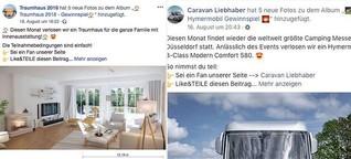 Tiny Houses & Co.: Diese Facebook-Gewinnspiele sind ein Fake