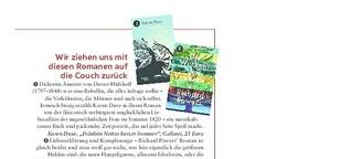 Buchtipps im Magazin Freundin 12/18
