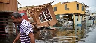 Opferzahl von Hurrikan: Trump wittert eine Verschwörung