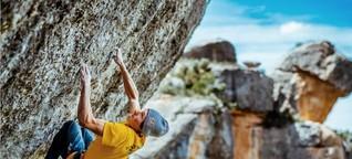 Alexander Megos: Er will einfach nur klettern