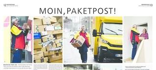 Geschichten von der Arbeit: Moin. Paketpost.