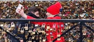Valentinstag in Paris: Das Geschäft mit dem Liebesschloss