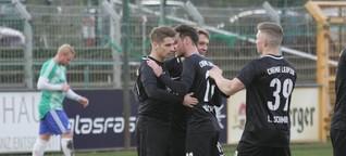 BSG Chemie Leipzig feiert Kantersieg mit neuem Trainer