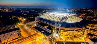Johan Cruijff Arena in Amsterdam: Die Bayern spielen öko