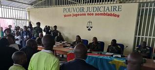 Ex-Rebellenchef vor Gericht
