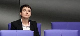 Frauke Petry - die Einzelkämpferin