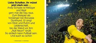 Liebe Schalker, ihr müsst jetzt stark sein ...