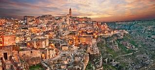 Höhlenstadt Matera: Eine Bühne für die Bibel - SPIEGEL ONLINE - Reise