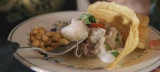 Ein peruanischer Koch zeigt euch, wie ihr richtig leckeres Ceviche zubereitet