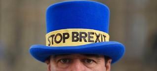 Der Mann mit dem Hut: Großbritanniens berühmtester Brexit-Demonstrant