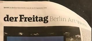 Werbepause - Himmel unter Berlin