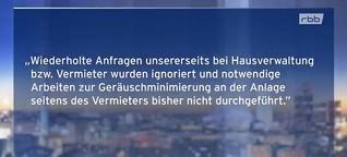 Wenn Berlin zu laut ist