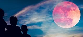 Super-Blutmond: Tipps und Infos zum Naturspektakel