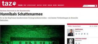 """Medienkritik - Wo bleibt die Resonanz auf die """"Hannibal""""-Recherche?"""