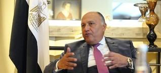 Ägypten fordert deutsche Hilfe für Grenzsicherung