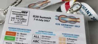 G20: BKA ändert Akkreditierungsverfahren
