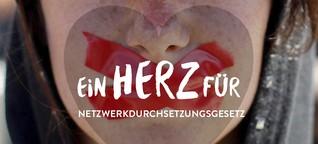 ZurQuelle Magazin: Ein Herz für das Netzwerkdurchsetzungsgesetz