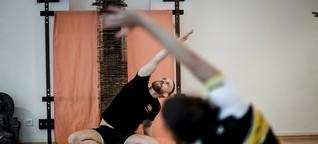 Lebensaufgabe: Stefan Siepmann lehrt Yoga für Männer