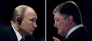 Russland vs. Ukraine: So reich sind Putin und Poroschenko