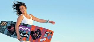 Kitesurf-Weltcup: Hamburgerin Sabrina Lutz: Voll in Mode