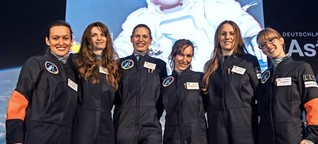 """Projekt """"Die Astronautin"""": Sechs Frauen greifen nach den Sternen"""