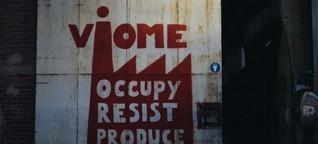 Griechische Fabrik Viome in Arbeiterhand - Stell dir vor, die Firma macht dicht und keiner geht heim