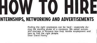How to Hire: Internships, Networking and Advertisements