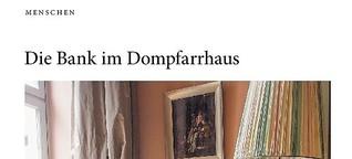 Die Bank im Frankfurter Dompfarrhaus