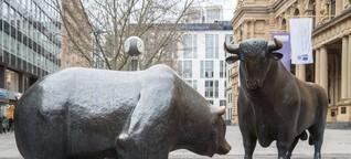 Wie Anleger einen Bärenmarkt überstehen