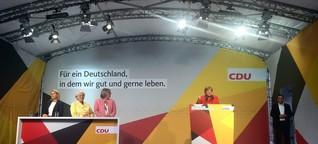 Live-Ticker: Merkels Auftritt in Bremen zum Nachlesen