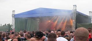 Mehrtägiges Neonazi-Musikfestival in Sachsen angemeldet - Störungsmelder