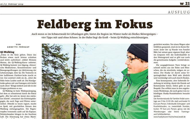 Feldberg im Fokus