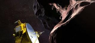 Asteroid Ultima Thule - New Horizons auf Tuchfühlung im Nirgendwo