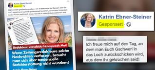 Diese AfD-Spitzenkandidatin macht auf Facebook Werbung mit einem Angriff auf einen Journalisten
