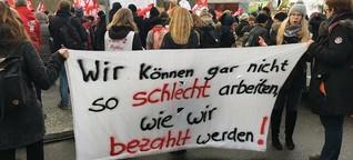 GEW-Sprecher: Mehr als 2500 Erzieher am Streik beteiligt