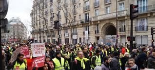 Gelbwesten: Macron hat die Arbeitenden verachtet, jetzt wird er verachtet